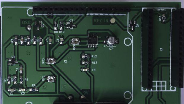 Interaktiv Morsetræner – Diagram og PCB (#05)
